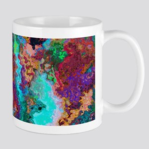 Abstract Oil Color Mix Mug