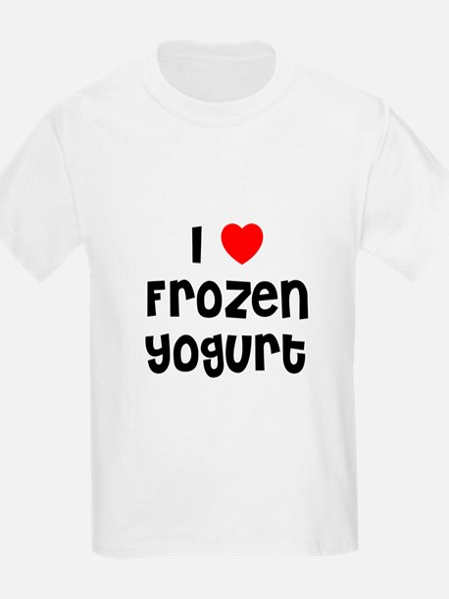 I * Frozen Yogurt Kids T-Shirt