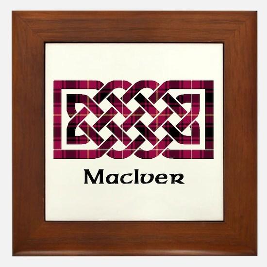 Knot - MacIver Framed Tile