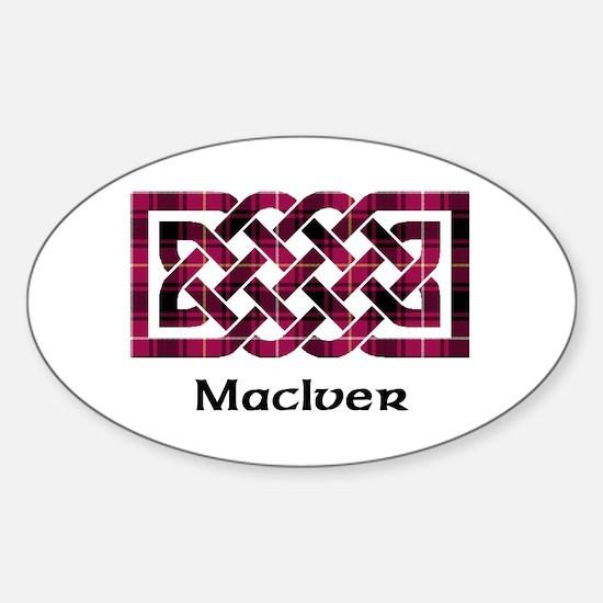 Knot - MacIver Sticker (Oval)