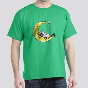 Ragdoll Kitty Lunar Love Dark T-Shirt