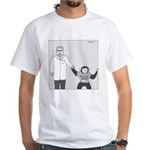 I'm With Stupid (no text) White T-Shirt