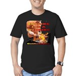 BarBQ Men's Fitted T-Shirt (dark)