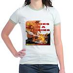 BarBQ Jr. Ringer T-Shirt