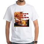 BarBQ White T-Shirt