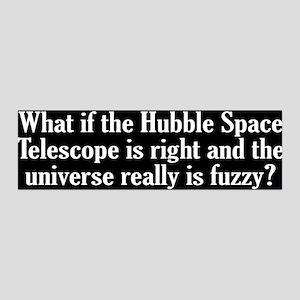 Hubble Telescope 36x11 Wall Decal