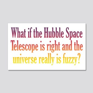 Hubble Telescope 20x12 Wall Decal