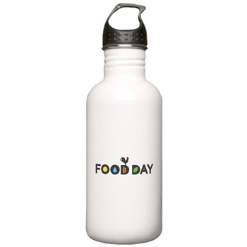 Food Day Stainless Water Bottle 1.0L