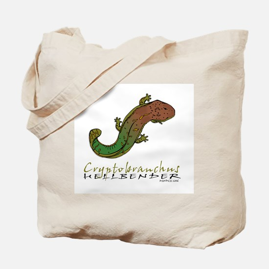 Funny Salamander Tote Bag