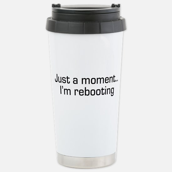 I'm Rebooting Stainless Steel Travel Mug