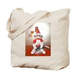 Ernie the Sock Monkey Birthday Tote Bag