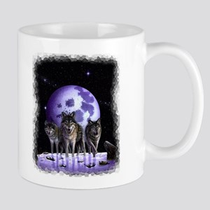Wolf Pack Moon Mug Mugs
