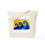 Shining Waves - Tote Bag