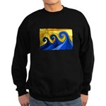 Shining Waves - Sweatshirt (dark)