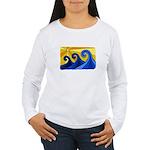 Shining Waves - Women's Long Sleeve T-Shirt