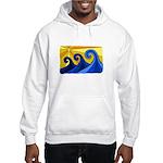 Shining Waves - Hooded Sweatshirt