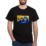 Shining Waves - Dark T-Shirt