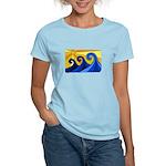 Shining Waves - Women's Light T-Shirt