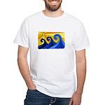 Shining Waves - White T-Shirt