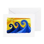 Shining Waves - Greeting Cards (Pk of 20)
