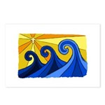 Shining Waves - Postcards (Package of 8)