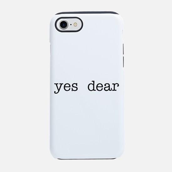 yes dear iPhone 7 Tough Case