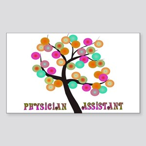 Physician Assistant Sticker (Rectangle)