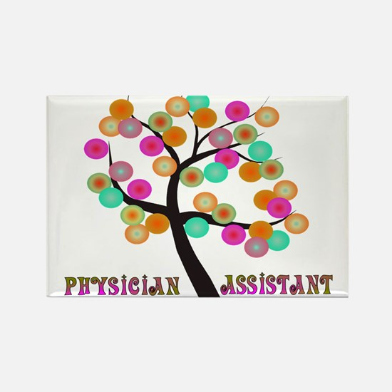 Physician Assistant Rectangle Magnet