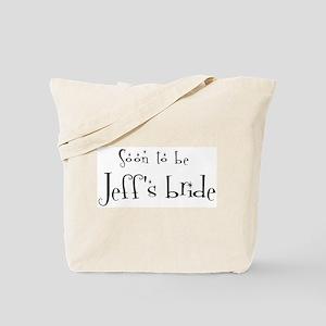 Soon Jeff's Bride Tote Bag