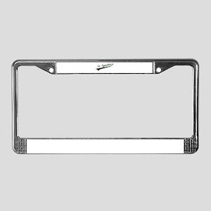 Baseball Script License Plate Frame
