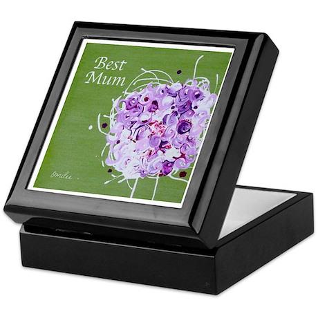 Bouquet 'Best Mum' Keepsake Box