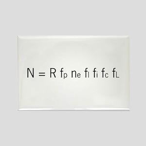 Drake Equation Rectangle Magnet (10 pack)