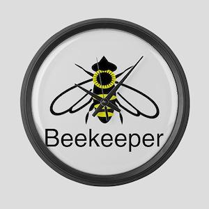 BeeKeeper 3 Large Wall Clock