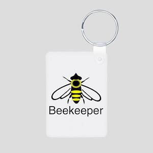 BeeKeeper 3 Aluminum Photo Keychain