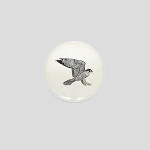 falcon (black) Mini Button