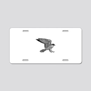 falcon (black) Aluminum License Plate
