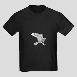 falcon (white) Kids Dark T-Shirt