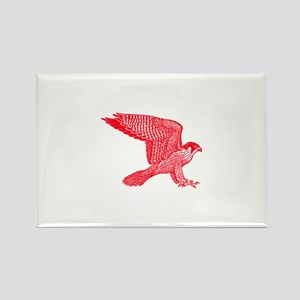 falcon (red) Rectangle Magnet