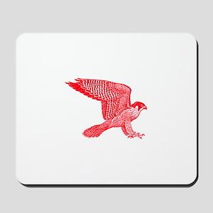 falcon (red) Mousepad
