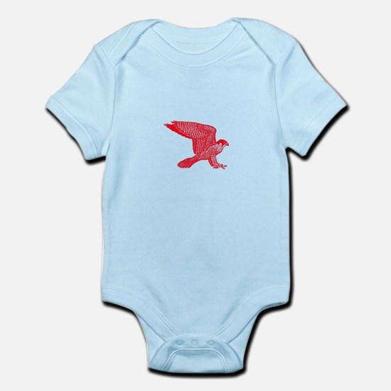 falcon (red) Infant Bodysuit