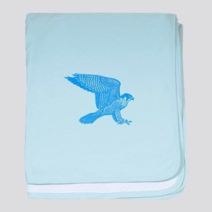 falcon (blue) baby blanket