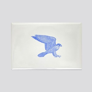 falcon (blue) Rectangle Magnet