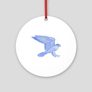 falcon (blue) Ornament (Round)