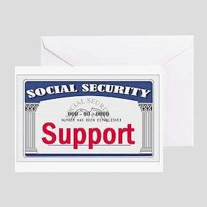 Social Security Greeting Card