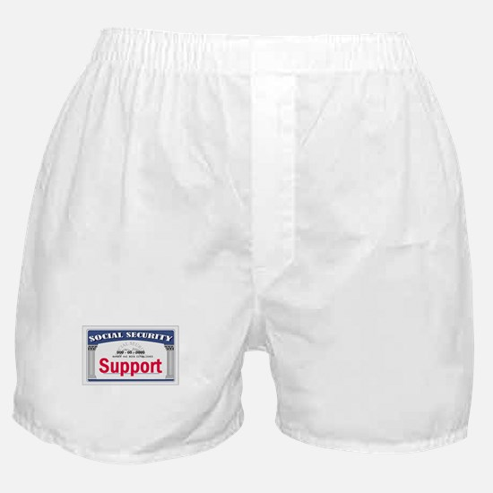 Social Security Boxer Shorts