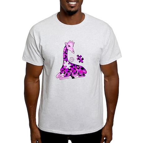 GIRAFFE FOR AUTISM Light T-Shirt