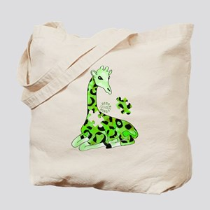 GIRAFFE FOR AUTISM Tote Bag