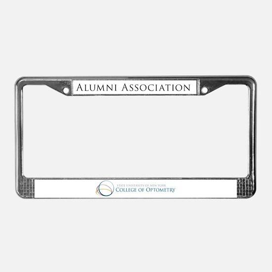 Cute Alumni License Plate Frame