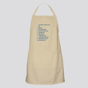 TEN THINGS I WANT... Light Apron