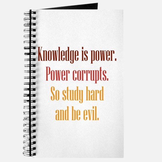 Knowledge and Evil Journal